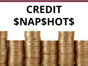 Credit Snapshots – March 2018